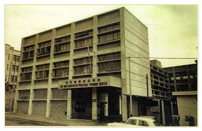 1965年,樓高三層的聖匠職業訓練學校矗立於紅磡工業區