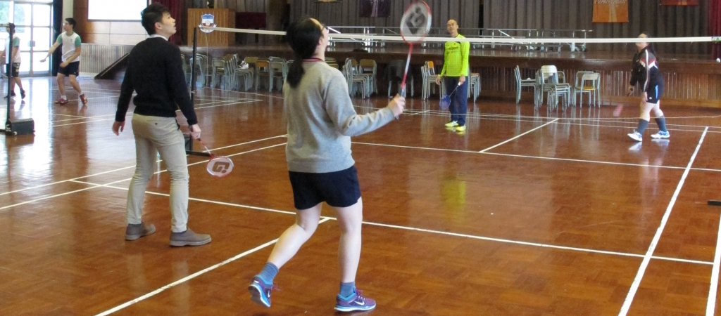 13-14 February 2017 Badminton Competition