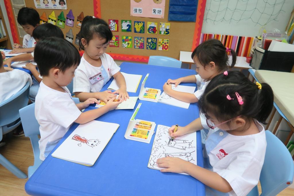躍思(栢蕙)幼稚園幼兒園的C4A相片2